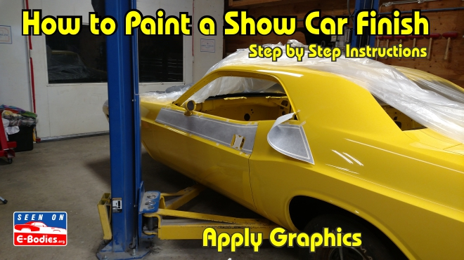 Hot to paint your own show car e bodies for What are the steps to painting a car